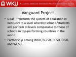 vanguard project