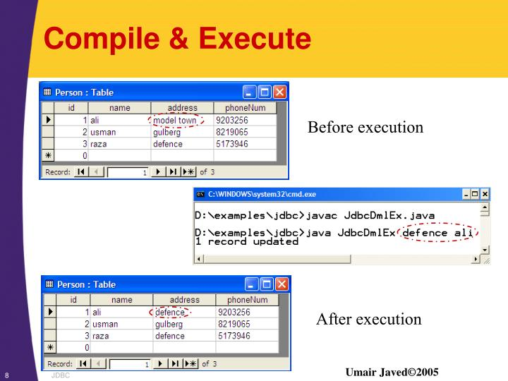 Compile & Execute