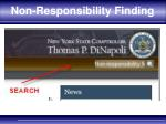 non responsibility finding1