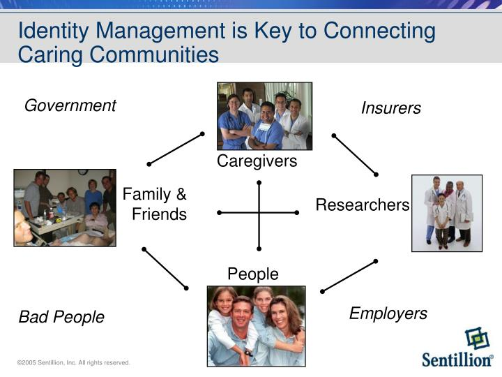 Identity Management is Key to Connecting Caring Communities