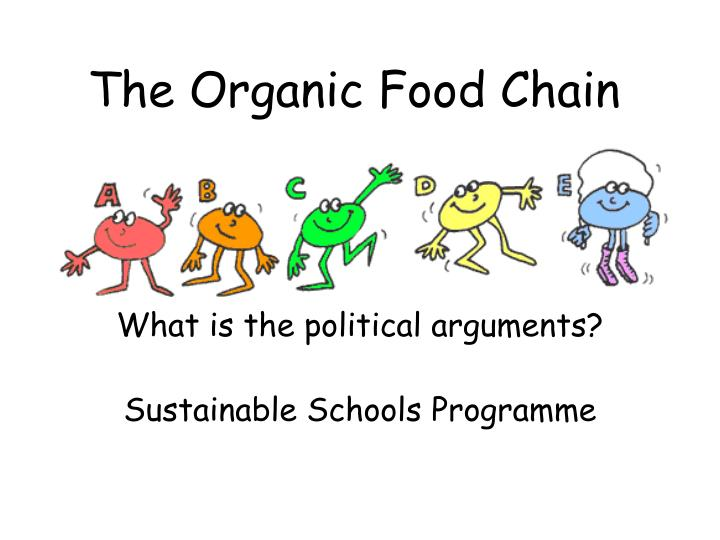 the organic food chain
