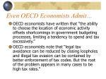 even oecd economists admit