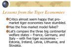 lessons from the tiger economies