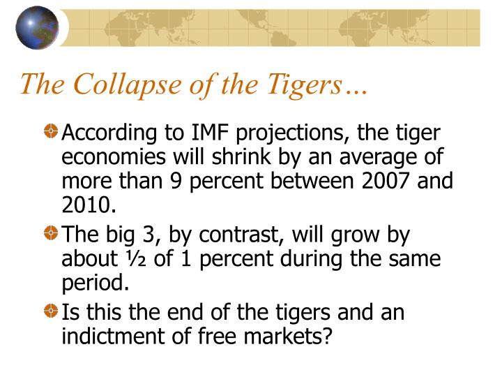 The Collapse of the Tigers…