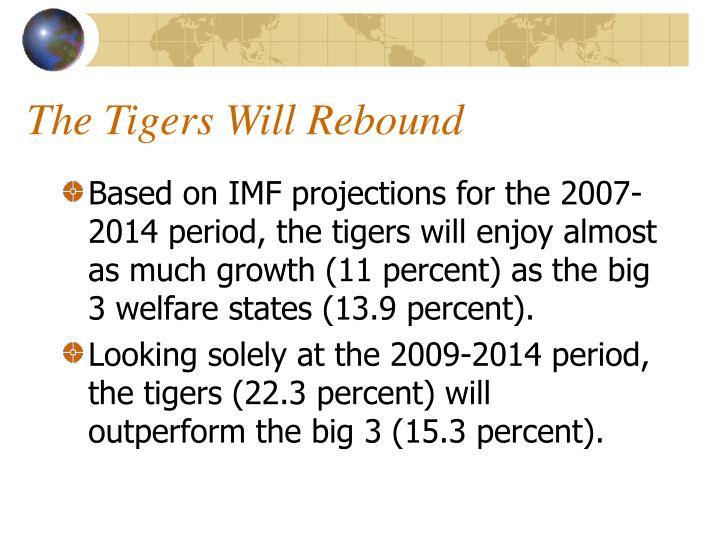 The Tigers Will Rebound