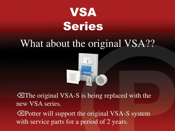What about the original VSA??