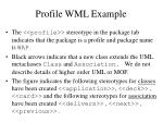 profile wml example2