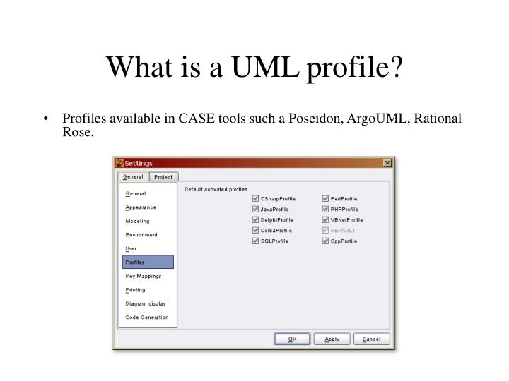 What is a UML profile?