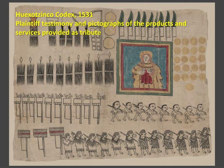 Huexotzinco Codex, 1531
