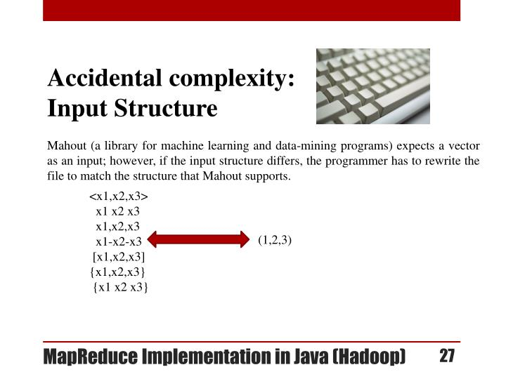 Accidental complexity: