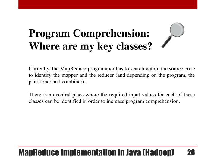 Program Comprehension: