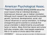 american psychological assoc