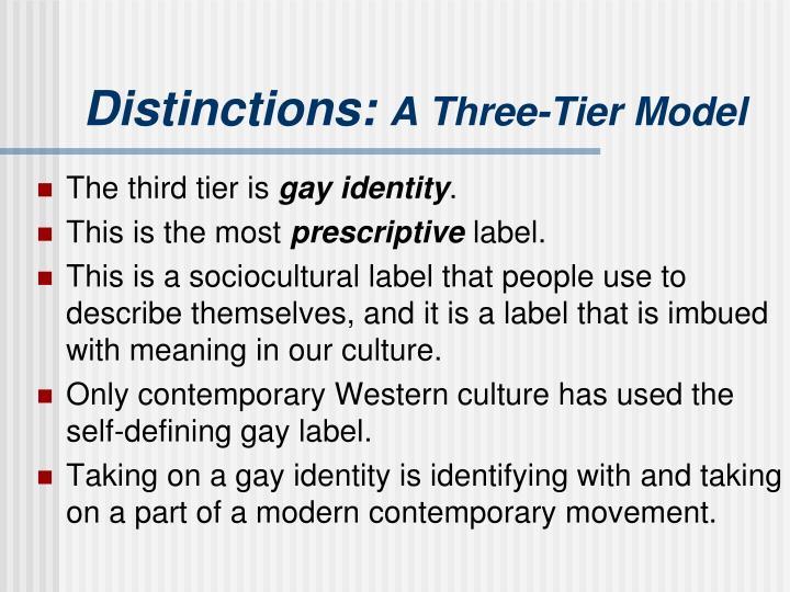 Distinctions: