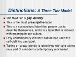 distinctions a three tier model2