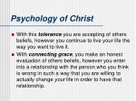 psychology of christ1