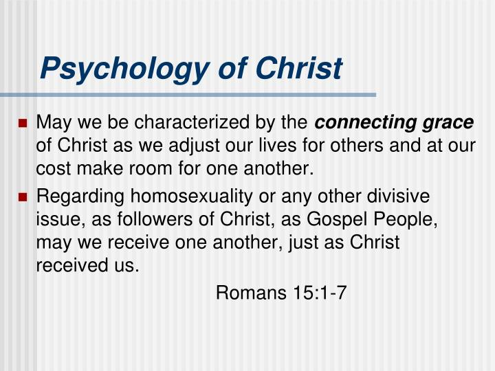 Psychology of Christ