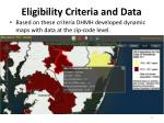 eligibility criteria and data1