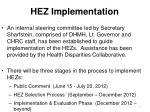 hez implementation