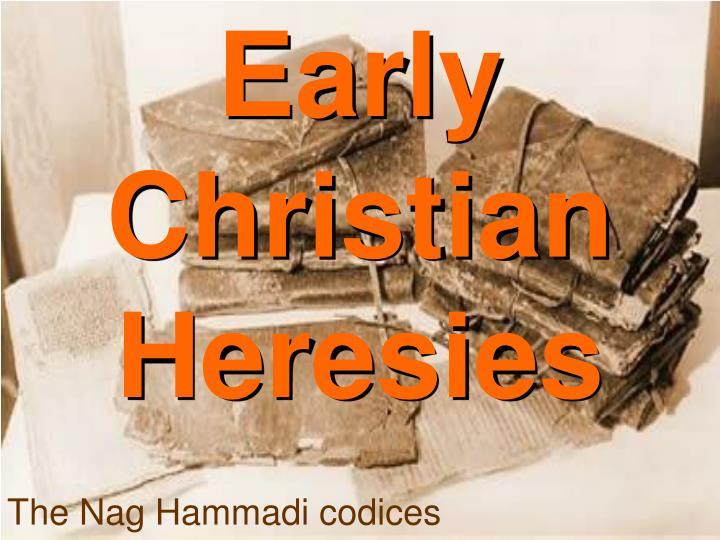 Early Christian Heresies