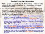 early christian heresies1