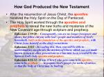 how god produced the new testament2