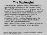 the septuagint1