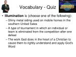vocabulary quiz12