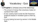 vocabulary quiz2