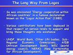 the long way from lagos1