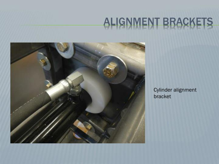 Alignment brackets