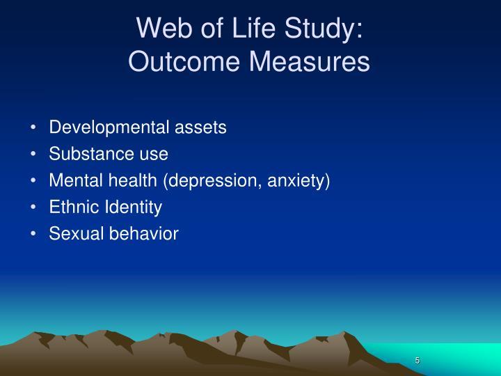 Web of Life Study: