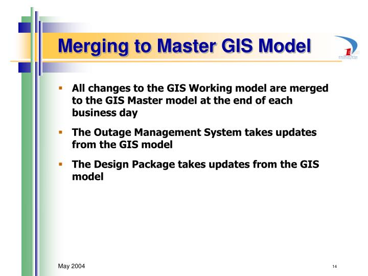 Merging to Master GIS Model