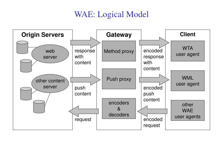 WAE: Logical Model