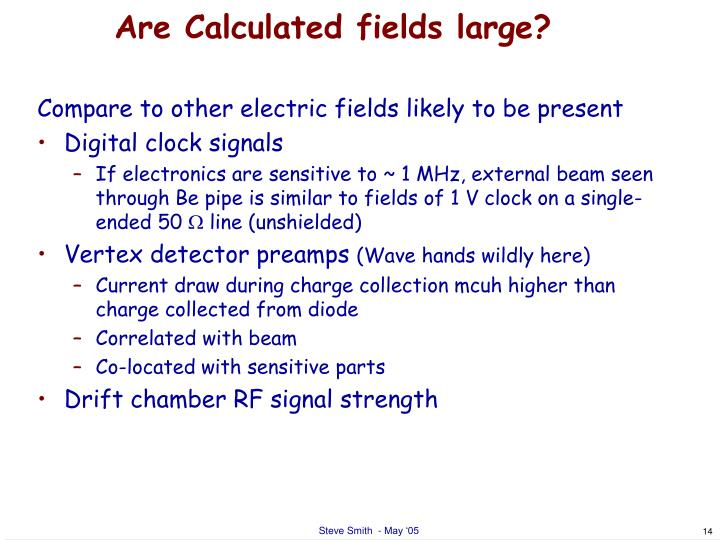 Are Calculated fields large?
