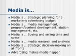 media is