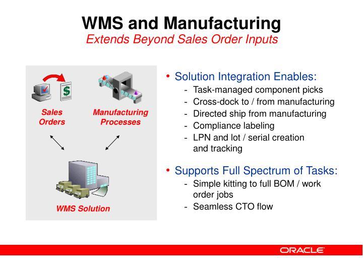 Solution Integration Enables: