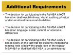 additional requirements3