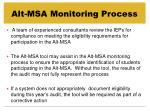 alt msa monitoring process1
