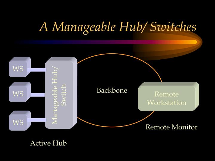 A Manageable Hub/ Switches