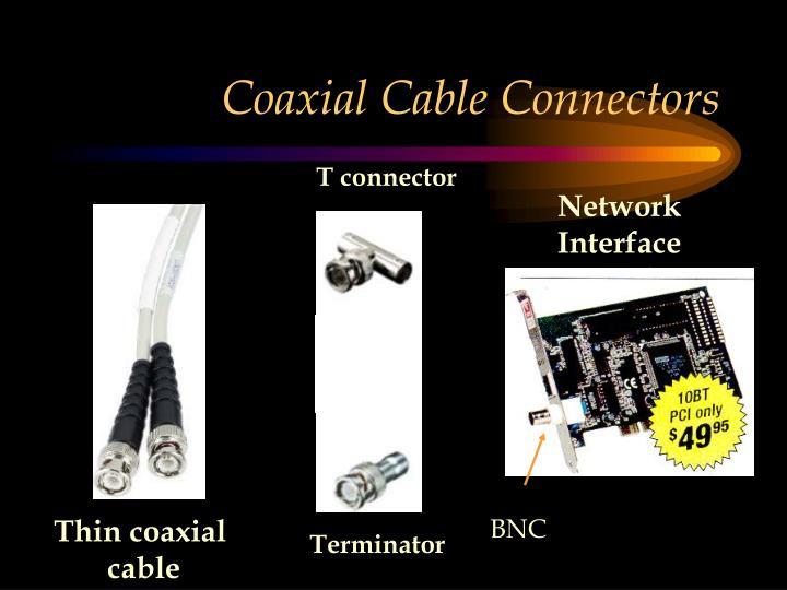 Coaxial Cable Connectors