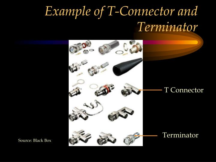 Example of T-Connector and Terminator