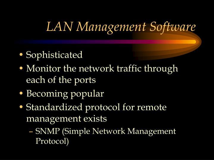 LAN Management Software