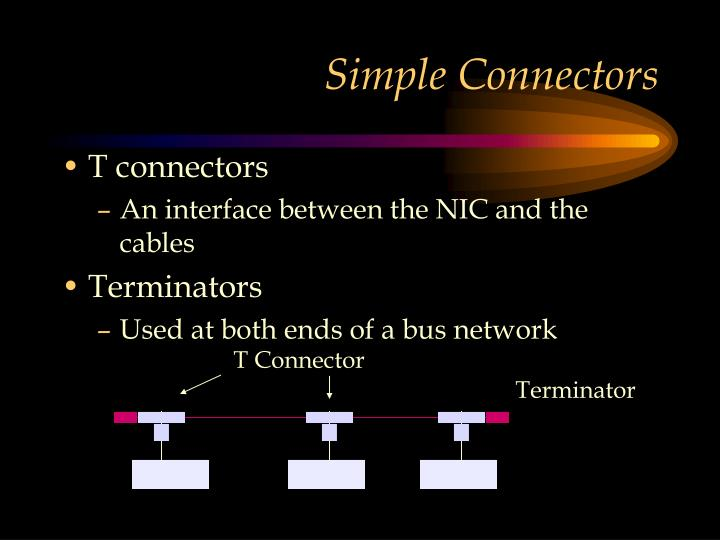 Simple Connectors