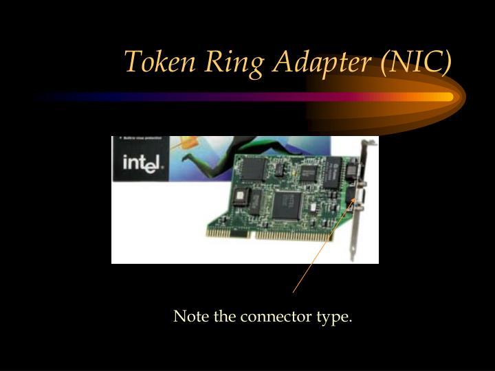 Token Ring Adapter (NIC)