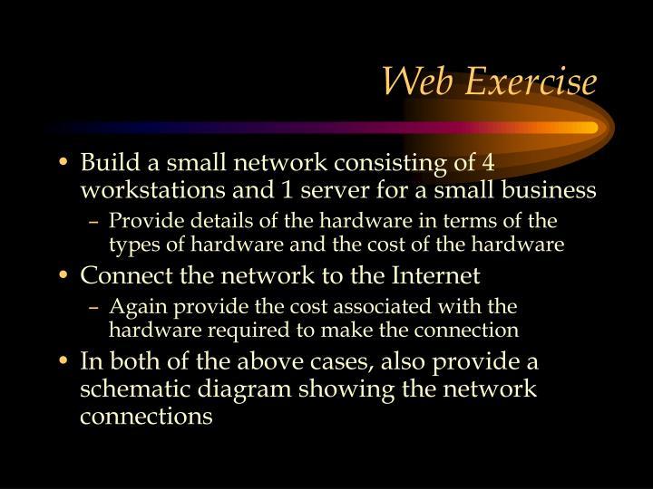 Web Exercise