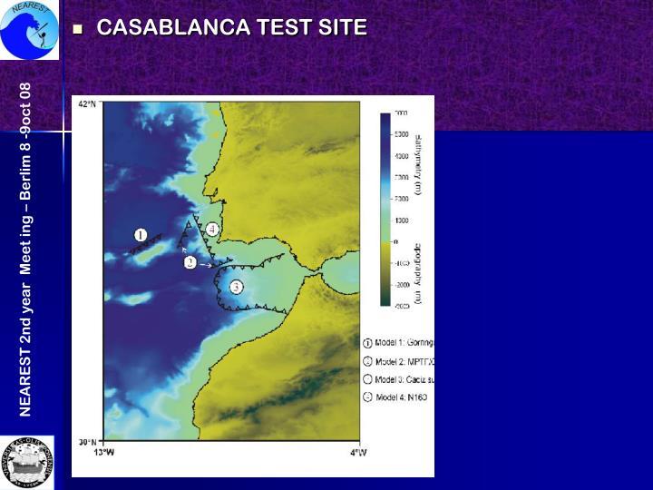 CASABLANCA TEST SITE