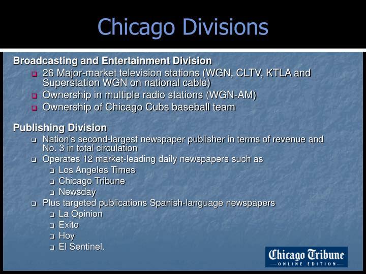 Chicago Divisions