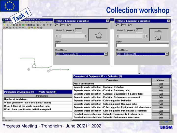 Collection workshop