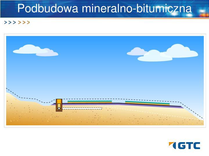 Podbudowa mineralno-bitumiczna