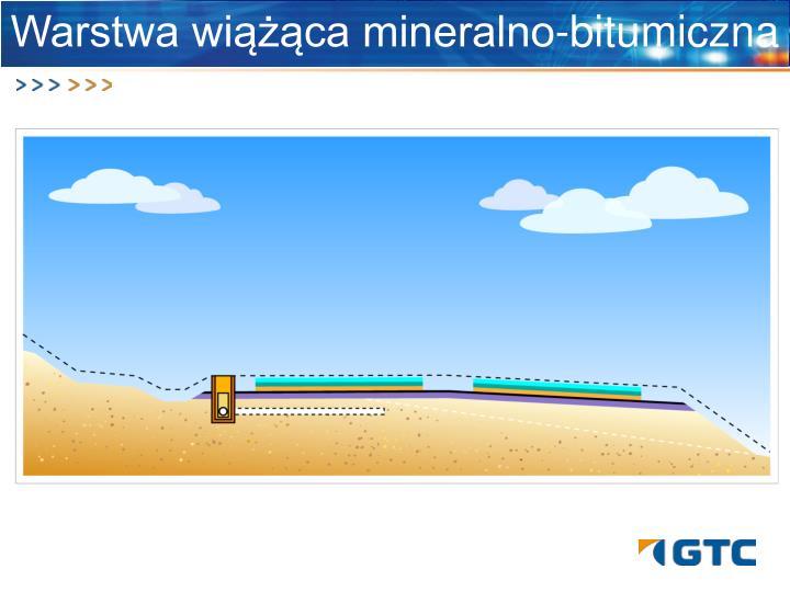 Warstwa wiążąca mineralno-bitumiczna
